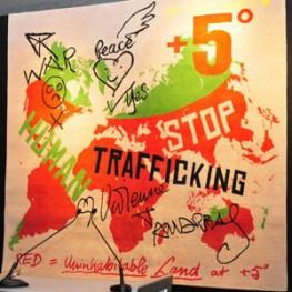 UNODC und Blue Heart Charity Empfang gegen Menschenhandel